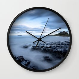 Swimming the blues Wall Clock