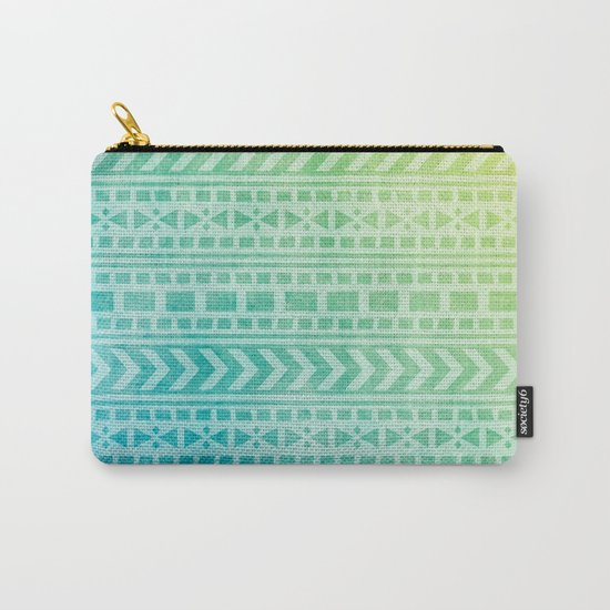 Aztec Pattern 07 Carry-All Pouch