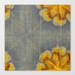 Unworminess Design Flowers  ID:16165-110353-84671 Canvas Print