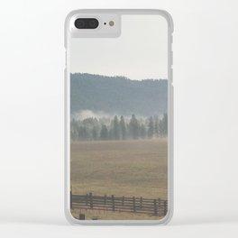 Eastern Washington Clear iPhone Case