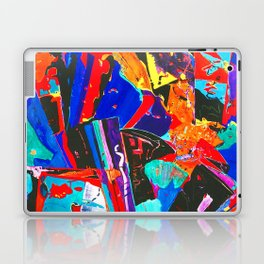 New Metropolis abstract painting Laptop & iPad Skin