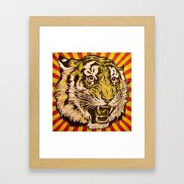 Fierce Framed Art Print