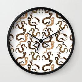 Plenty of Pythons - Light Wall Clock
