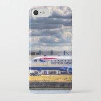 british iPhone & iPod Cases featuring British Airways  by David Pyatt