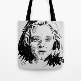 Clarice Starling Sketch - The Silence of the Lambs Tote Bag