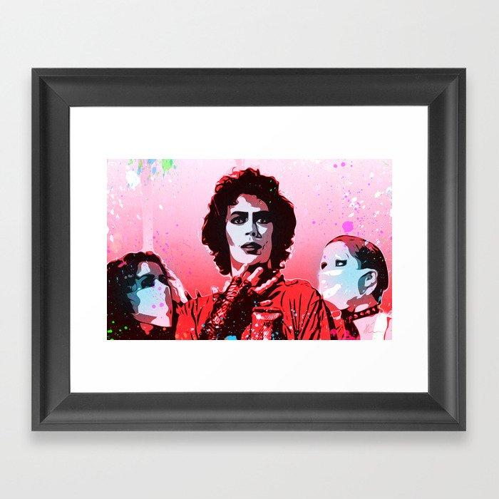 The Rocky Horror Picture Show - Pop Art Gerahmter Kunstdruck