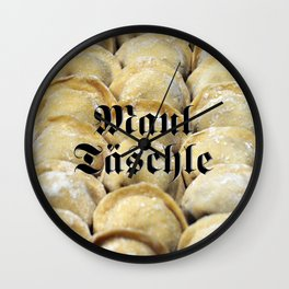 Maultäschle - Fight the Epidemic Wall Clock