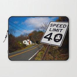 Speed Limit 40 Laptop Sleeve