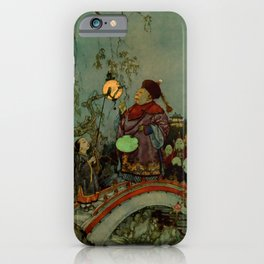 """In Search of a Nightingale"" by Edmund Dulac iPhone Case"