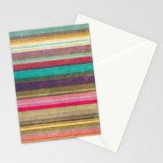 Stripes - pattern Stationery Cards