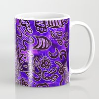 zentangle Mugs featuring Zentangle  by ShaMiLa
