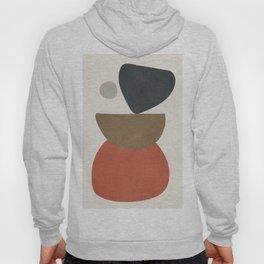 Abstract Balancing Stones Hoody