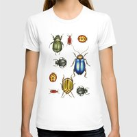 bugs T-shirts featuring Bugs by Megan Campbell Illustrator