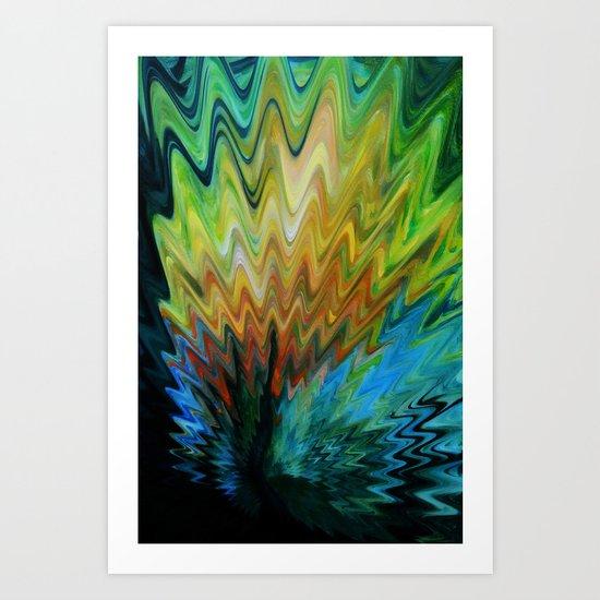 Magic Bloom Art Print