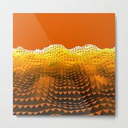 Dune Wave Metal Print