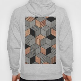 Concrete and Copper Cubes 2 Hoody