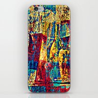 bar iPhone & iPod Skins featuring bar by agnes Trachet