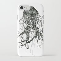 jellyfish iPhone & iPod Cases featuring Jellyfish by Aubree Eisenwinter