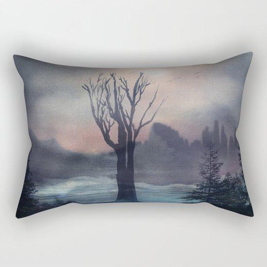 When we feel love Rectangular Pillow