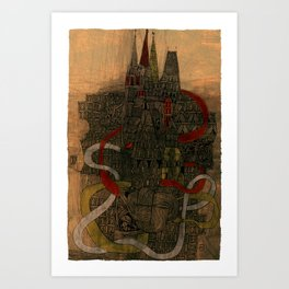 La citadelle Art Print