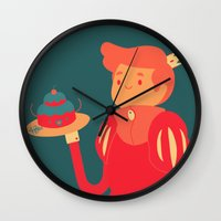baking Wall Clocks featuring Baking by nico_lle