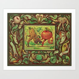 Harvest Set - Journey Art Print