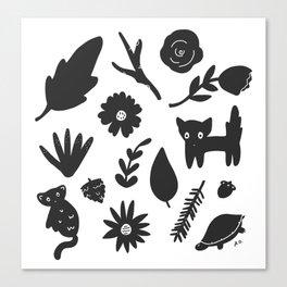 Bits & Pieces Canvas Print