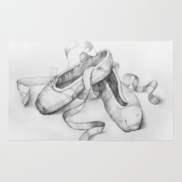 Ballet shoes Rug