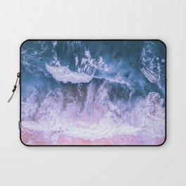 Pink Sand Blue Sea Laptop Sleeve