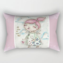 A Hope-Spreading Fairy Rectangular Pillow