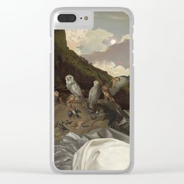Paw Pad Path Clear iPhone Case