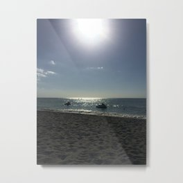 End Of Day Captiva Island Metal Print
