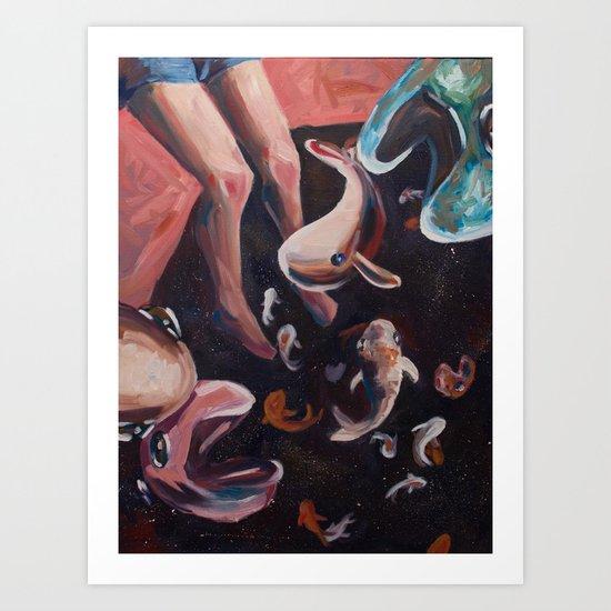 SpaceFish Art Print