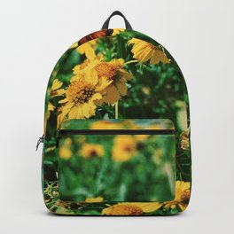 BUTTERFLY AND FOWERS Backpack