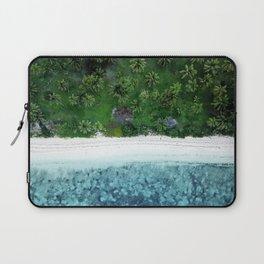 Tropical Beach Vibes Laptop Sleeve