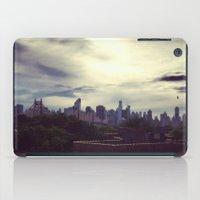 manhattan iPad Cases featuring Manhattan  by Claire Beaufort