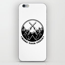 Make Your Peace iPhone Skin