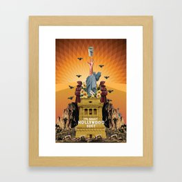 the sect Framed Art Print
