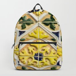 Portuguese azulejos Backpack