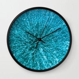 Baikal ice texture Wall Clock