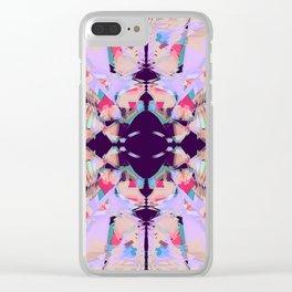 Bohemian art Clear iPhone Case