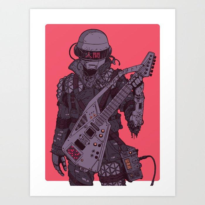 Daftermath 002 Art Print