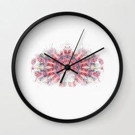 Inkdala XVII - Ink Blot Wall Clock
