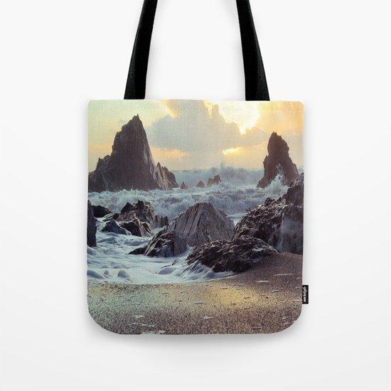 Crashing Waves II Tote Bag