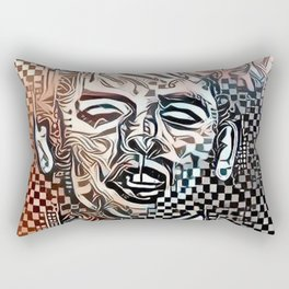 Abstract Brel Rectangular Pillow