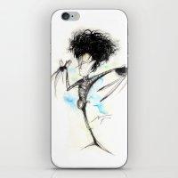 edward scissorhands iPhone & iPod Skins featuring Edward Scissorhands by alexviveros.net