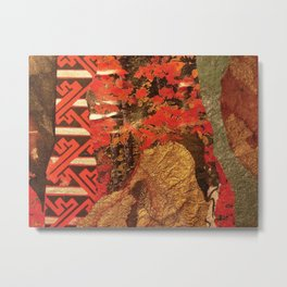 Moment in Red Metal Print