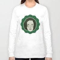 scully Long Sleeve T-shirts featuring Dana Scully by Kuki