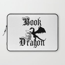 Book Dragon Laptop Sleeve