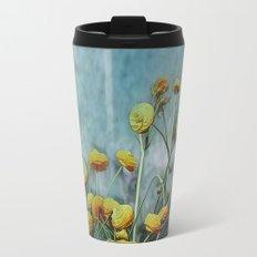 Summers Yellow Travel Mug